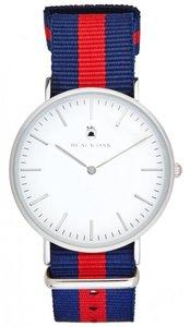 Black Oak Velutino blue red 40 mm horloge