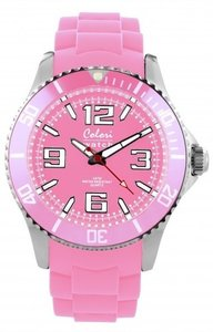 Colori Watch Cool Steel Baby Pink
