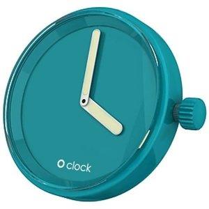 O clock klokje water blue