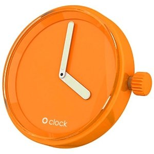 O clock klokje pure orange