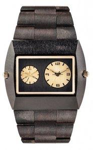 WeWOOD Jupiter Black Gold horloge
