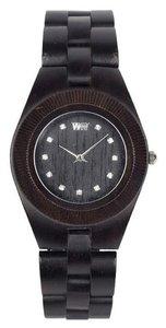 WeWOOD Odyssey Crystal Black horloge