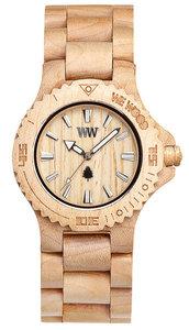WeWOOD Date Beige horloge