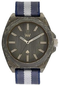 WeWOOD Phoenix Phoenix 46 Teak Blue horloge